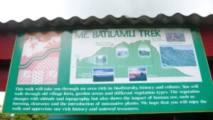 Mt. Batilamu Trek im Koroyanitu Nationalpark